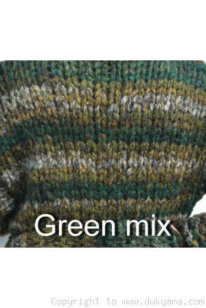 Custom made soft merino blend chunky Tneck  mens sweater