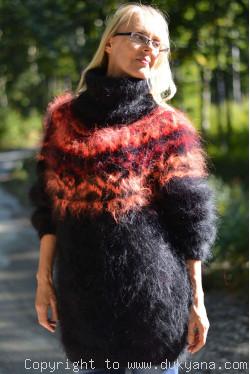 Icelandic mohair sweater