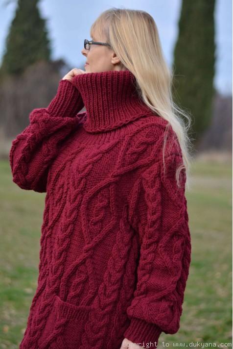 Plus Size V Neck Sweater
