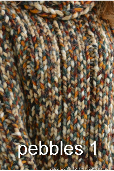 Handknit long chunky wool blend T-neck mens cardigan